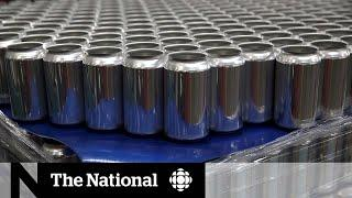 Trump reimposes 10% tariff on aluminum from Canada