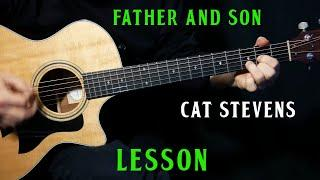 "how to play ""Father and Son"" on guitar by Cat Stevens 