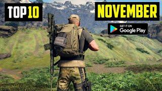 TOP 10 NEW ANDROID GAMES IN NOVEMBER 2020   HIGH GRAPHICS (Offline/Online)