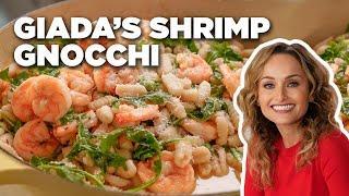 HOMEMADE Sardinian Gnocchi and Shrimp with Giada De Laurentiis | Food Network