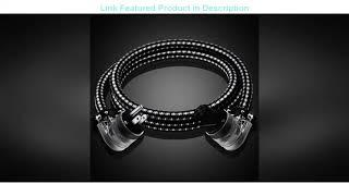 TOP 10 ATAUDIO Hifi 6N OFC Power Cable Hi-end Power Cord With L shape Power Plug Review