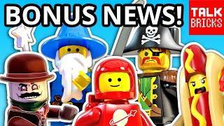 BONUS LEGO NEWS! 2020 Hidden Side Race Car?! LEGO Legacy! Top LEGO Themes 2019! Fastest Selling Set?