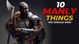 10 Manly Personal Items All Guys Should Own