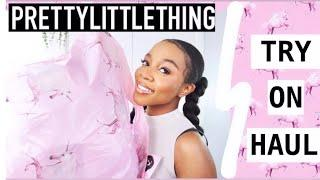 HUGE PRETTY LITTLE THING TRY ON HAUL...TRENDY SPRING 2020 MUST HAVES
