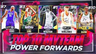 THE TOP 10 BEST POWER FORWARDS IN NBA2K20 MYTEAM!! NBA 2K20 BEST POWER FORWARDS!!