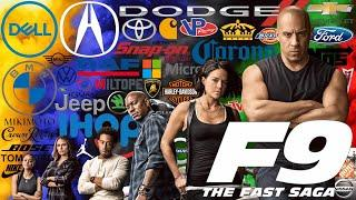 FAST & FURIOUS 9 top 10 brands – F9 product placement