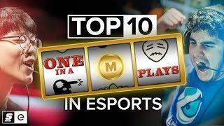 The Top 10 One-in-a-Million Plays in Esports