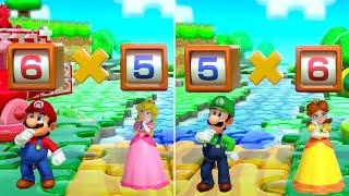 Super Mario Party - MiniGames - Mario & Peach vs Luigi & Daisy (Master Cpu)