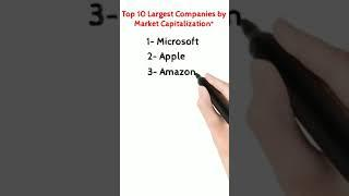 Top 10 Largest Companies by Market Capitalization