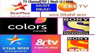 Top 10 TV Channel TRP ( Urban ) | Week 12 | 2020