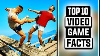 Top 10 Amazing Video Game Facts | Interesting Facts About Video Games