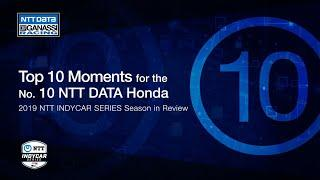 2019 Season in Review: Top 10 Moment for the No. 10 NTT DATA Honda