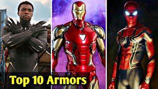 Top 10 Superheroes Armors In MCU Explained In HINDI | Best Superhero Armor In MCU Explained In HINDI