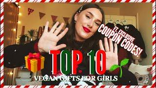 TOP 10 GIFTS FOR VEGAN GIRLS!
