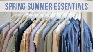 Spring And Summer Essentials For Men | Style Trends in 2021