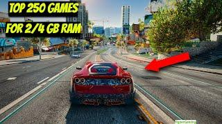 Top 250 Best PC Games For Low End/ Low Spec (128MB/ 256MB/ 512MB VRAM)