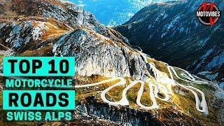 TOP 10 MOTORCYCLE ROADS SWISS ALPS // KTM 1290 Super Adventure S