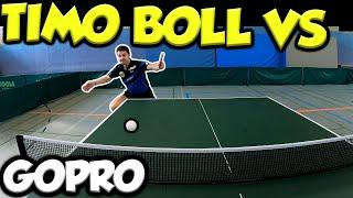 PLAYING TIMO BOLL WITH A GoPro!
