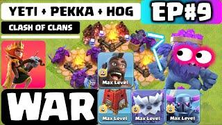 YETI | TH13 STRATEGY | Top 3 War Attacks | 3 STAR | CLASH OF CLANS (COC) 2020