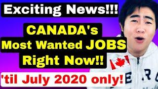 10 EXTREMELY HIGH DEMAND JOBS in CANADA that are QUICKLY FILLING UP!
