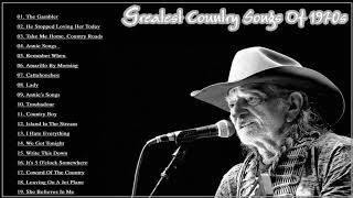 Greatest Country Songs Of 1970s - Best 70s Country Music Hits - Top Old Country Songs 70's