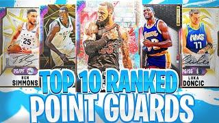 TOP 10 *RANKED* POINT GUARDS YOU CAN GET IN NBA 2K20 MYTEAM! YOU NEED THESE CARDS