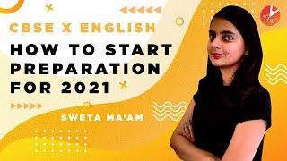 How To Start Study For English Class 10 CBSE 2021? How To Start a New Academic Year? Study Tips