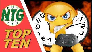 Top 10 Time Wasting Game Elements for Busy Gamers