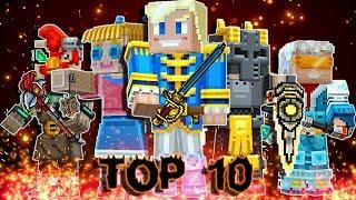 Pixel Gun 3D - Top 10 Most Popular Melee Weapons by Subscribers (Month 1)