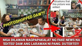 EDITED NGA BA ANG LARAWAN NI PANGULONG DUTERTE?!/ Panibagong FAKE NEWS na kinakalat sa social media