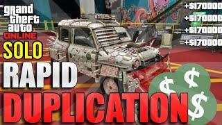 *SOLO* RAPID CAR DUPLICATION GLITCH! (1.7 MILLION EVERY 1-2 MIN) GTA5 MONEY GLITCH AFTER PATCH 1.52!