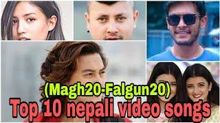 #top #viral #Viral_0n_tiktok #Top 10 new Nepali video songs of this month (magh20 to Falgun 20)