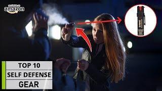 TOP 10 Must Have SELF DEFENSE Gadgets & Gear
