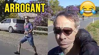 INSTANT KARMA to ARROGANT GUY | Epic Biker Moments
