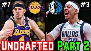 Ranking 10 More Of The Best Undrafted Players In The NBA Today