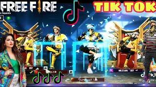 FREE FIRE ON TIKTOK !! FREE FIRE TIKTOK VIDEO !! BEST FREE FIRE FUNNY MOMENTS  PART-14 !Ft. sk sabir