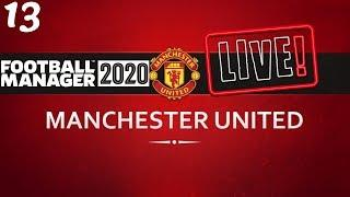 FM20 Manchester United Career Mode | Fixing Man United Ep13 | Football Manager 2020 Stream Replay