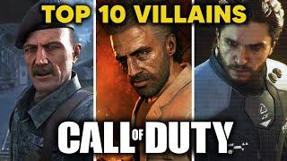 Top 10 CALL OF DUTY Villains of All Time