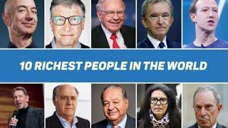 Top 10 Richest People In The World In 2020 | Top 10 Richest Person In World | Viral Trending