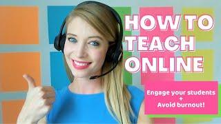 HOW TO TEACH ONLINE (Top Tips for New Online Teachers!)