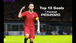 PES 2020   Top 10 Manual Goals   Legend Level