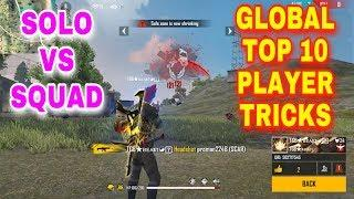 Free fire Global top 10 grandmaster player trics and tips in tamil