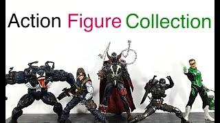 My Action Figure Collection Action Figure Display Update Video #26