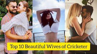 Top 10 Most Beautiful Wives Of Cricketers in 2021| Most beautiful wifes of world cricketers 2021