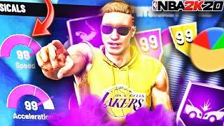 THE BEST OVERPOWERED SLASHER BUILD IN NBA 2K20!! Best Pure Slasher Build! Best Small Forward Build
