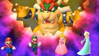 Mario Party 10 MiniGames - Mario Vs Luigi Vs Peach Vs Rosalina (Master Cpu)