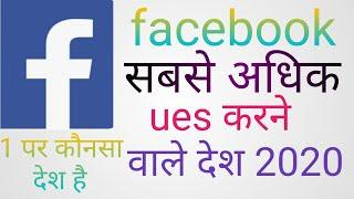 Top 10 country most user in facebook in the world 2020/sebas adhi facebook user kise desha me h