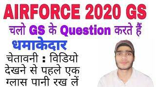Top 10 Airforce x group , NAVYAA, SSR, MR, GS QUESTION /Raga gs / Javed Sir /Topper gyan academy.