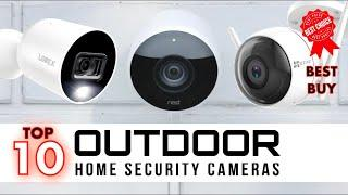 Best Home Outdoor Security Cameras 2020 - Top 10 Outdoor Security Cameras (best buy)