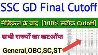 SSC GD Final Cutoff 2020 ||SSC GD Final Cutoff 2020 ||ssc final result, ssc news today,ssc gd cutoff